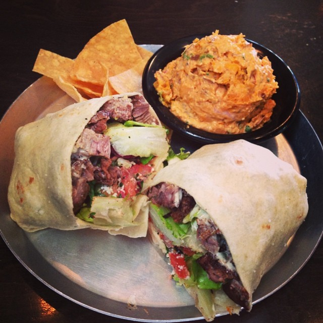 5) Black Sheep Burrito and Brews, located in Huntington and Charleston.