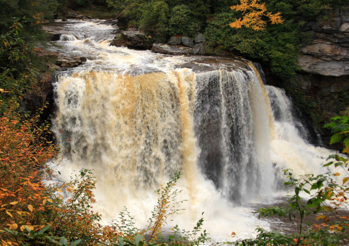 5) Blackwater Falls State Park, located in Davis, WV.