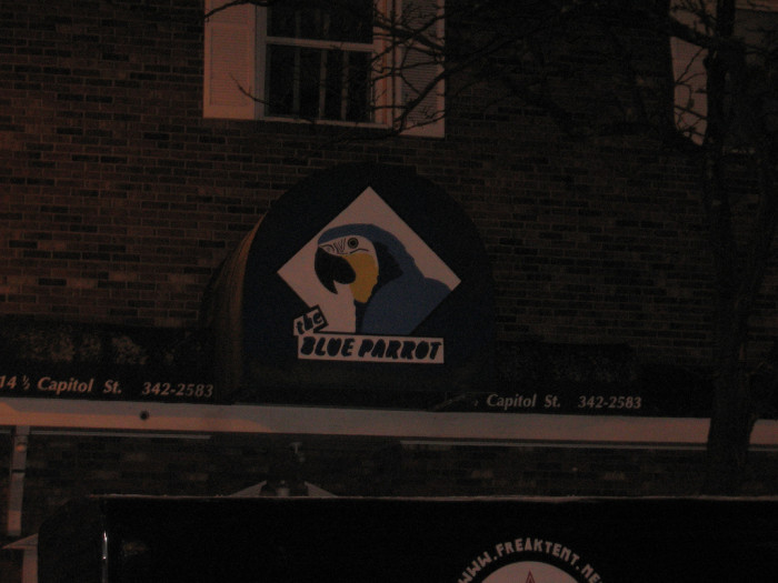 8) The Blue Parrot is a great little bar located in Charleston.