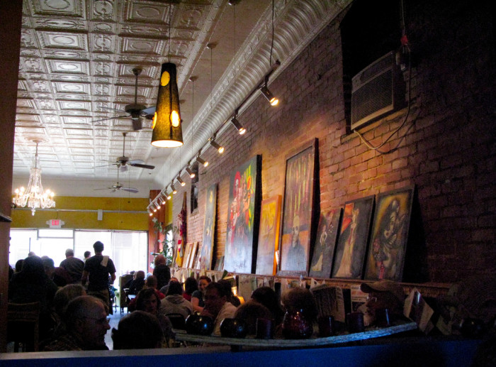 9) The Bluegrass Kitchen, located in Charleston, is known for having a great selection of vegetarian and omnivorous dishes! This place is amazing!