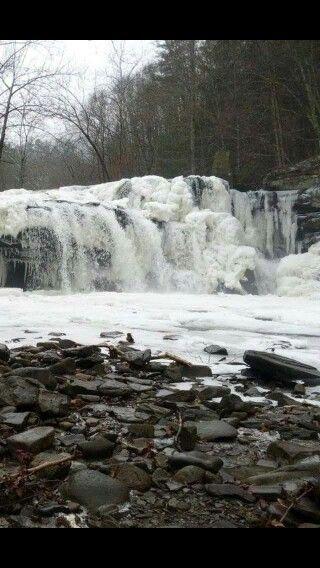 13) Brush Creek Falls, located in Athens, WV.
