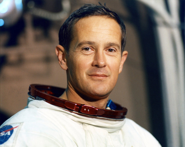 4. Speaking of space, Charlotte native Charlie Brown is one of twelve people to ever walk on the moon.