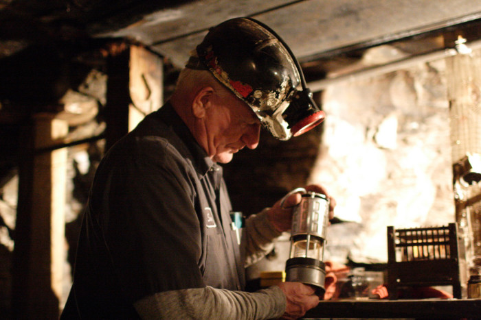 12) Exhibition Coal Mine, located in Beckley, WV, offers underground coal mining tours by veteran coal miners.