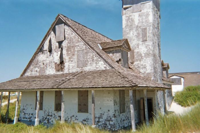 6. Abandoned Coast Guard Station, Pea Island