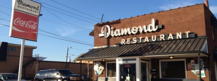 20. The Diamond Restaurant, Charlotte