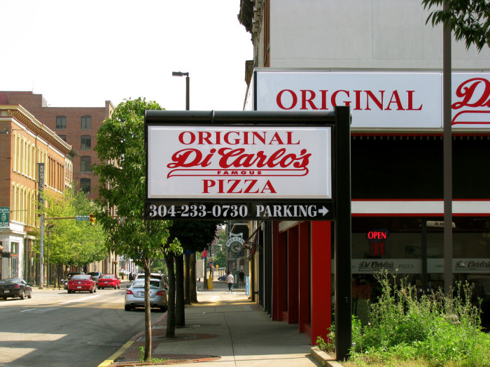 18) DiCarlo's Pizza Shop, located in Wheeling, WV.