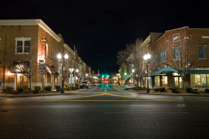 2) Downtown Franklin is a darling little town that proffers a fun string of boutique shops and restaurants perfect for a Sunday afternoon.