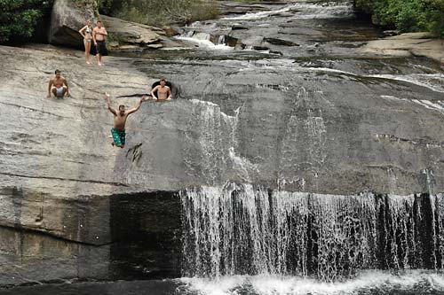 4. Drift Falls past Turtleback Falls