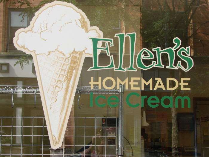 15) Ellen's Homemade Ice Cream is located on Capitol Street in Charleston.