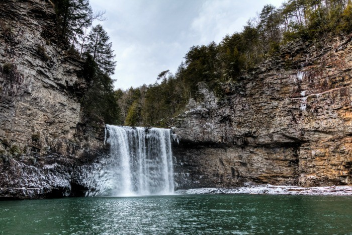 11) Fall Creek Falls is the highest waterfall located east of the Mississippi, and it ain't too bad on the eyes either.