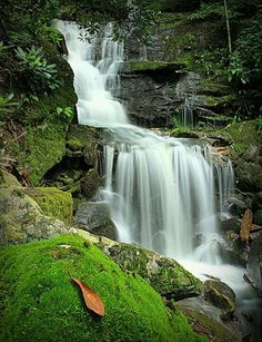 11) The beautiful Falls of Fox Branch, located in Ansted, WV.