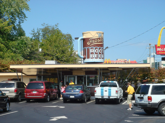 20) Frostop's, located in Huntington, WV.