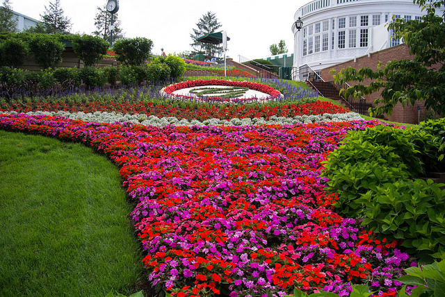 The Greenbrier, a four-star luxury resort in White Sulphur Springs, WV, is home to the Greenbrier Classic Golf Tournament. The Greenbrier is beyond beautiful, and words cannot describe it. This resort is cookie cutter perfect.