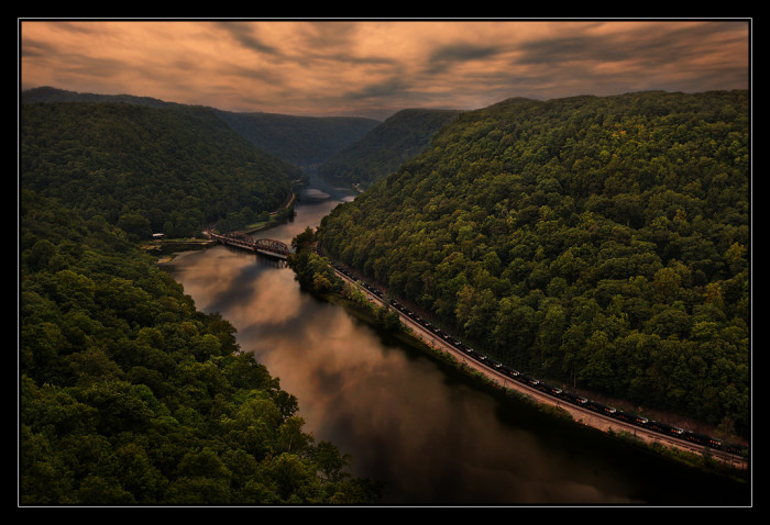 Hawks Nest, in Fayette County, WV, is easily one of the most talked about tourist attractions that our state has. You haven't lived until you and your best friends or family haven't piled into a car and battled through car sickness on the waving roads to get to this beautiful view.