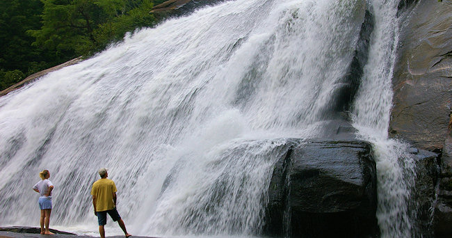 2. High Falls (Cullowhee Falls)