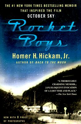 9) Homer Hickam, born in Coalwood, WV, is the author of the novel Rocket Boys, which was based on true events.