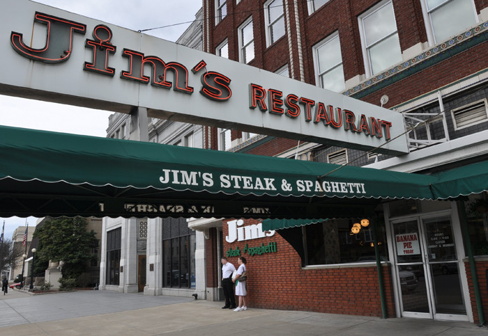25) Jim's Steak and Spaghetti Restaurant, located in Huntington, WV, is a great restaurant with a family-friendly atmosphere.