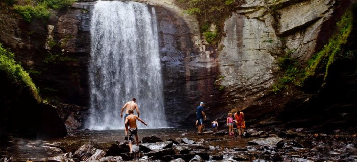 1. Looking Glass Falls, Pisgah National Forest