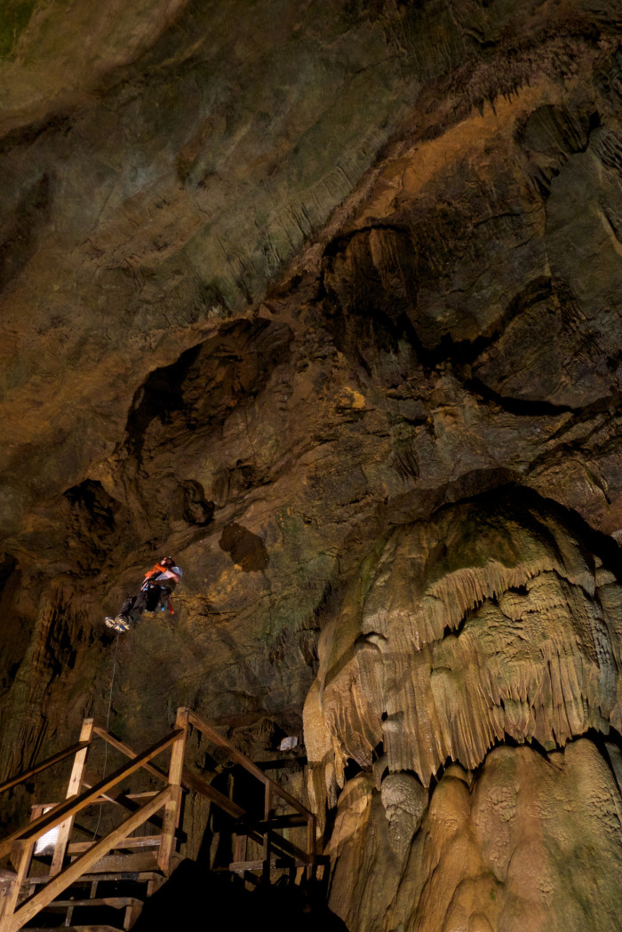 1) Lost World Caverns, located in Lewisburg, WV.