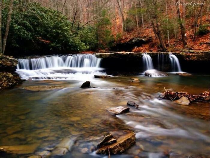 15) Mash Fork Falls, located in Camp Creek, WV.