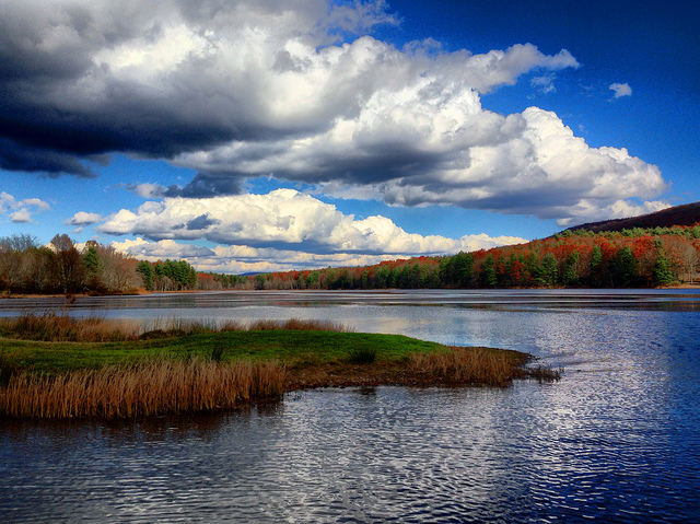 12) Moncove Lake State Park, located in Gap Mills, WV.