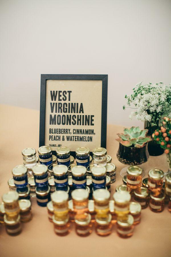 mini moonshine wedding favors - 460×680