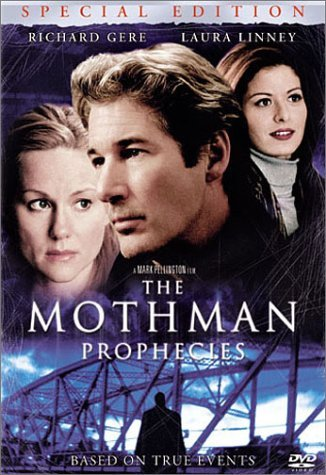 7) The Mothman Prophecies, starring Richard Gere, is actually a story based on real events. There was a series of events that were very strange and mysterious happening in Point Pleasant, WV. This movie is all about how these events could be tied to the Mothman!