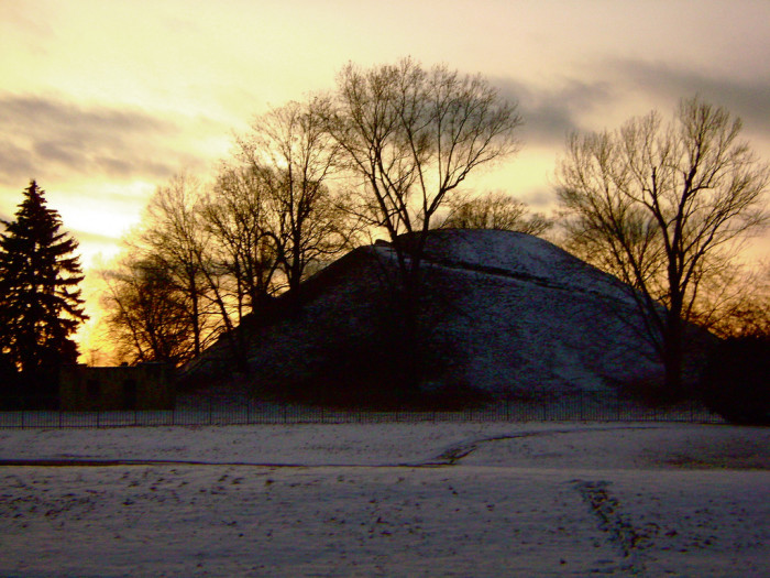 9) The Grave Creek Indian Burial Mound is more interesting than it is terrifying, but it still has some scary aspects. Indian Burial mounds were intended to connect the living with the dead as an entrance to the afterlife.