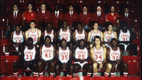 19. In 1974 and 1983 when NC State won the NCAA National Championship.