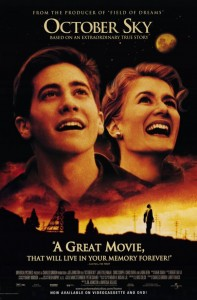 2) October Sky, based on a true story, is one of the more flattering movies set in West Virginia. Homer Hickam, a coal miner's son, and some of his friends set off Sputnik 1 in 1957 and eventually became a NASA engineer.