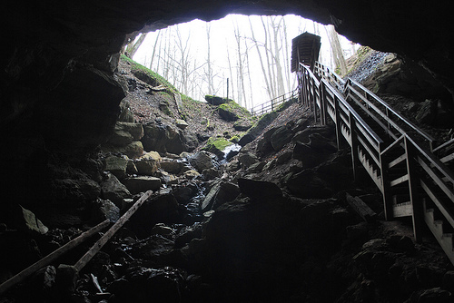 2) Organ Cave, near Ronceverte, WV.