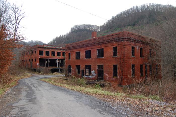 10) The Pocahontas Coal Company buildings are located in Jenkins Jones, West Virginia.