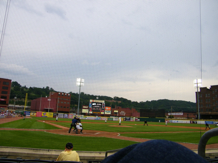 7) Drive down to the capitol city, Charleston, to enjoy a baseball game at our very own Appalachian Power Park.