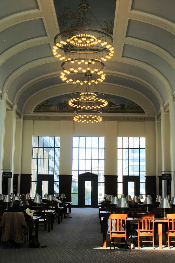 14) The downtown Nashville library is a stunning piece of architectural artistry and maze of stories. Check out a list of events on their website or simply wander in for an afternoon of reast in the sun-drenched reading room.