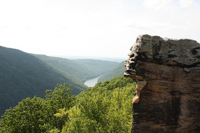 14) Raven Rocks is located in Blue Ridge Mountain in Jefferson County, West Virginia.
