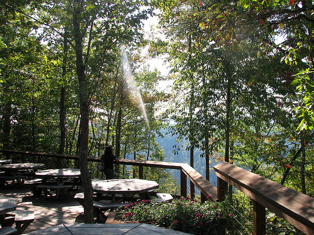 2) Smokey's on the Gorge, located in Fayetteville, WV.