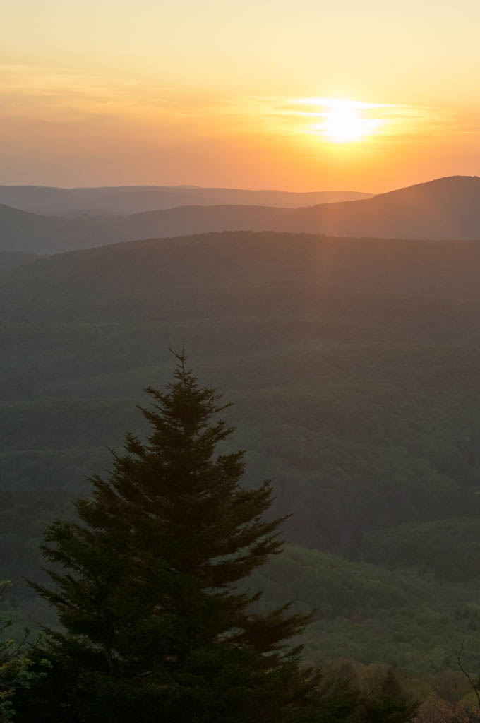 12) At 4,863 feet, Spruce Knob is not only the highest point in the state of West Virginia, it is the highest peak in the Allegheny Mountains.