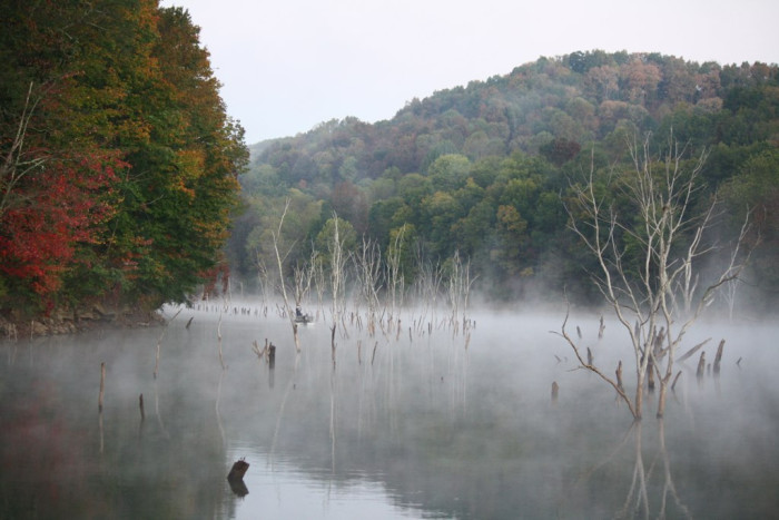 16) Stonewall Jackson Lake State Park, located in Roanoke, WV.