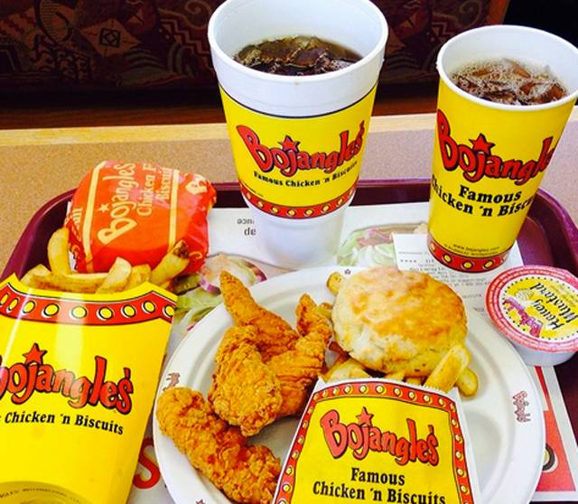 """31. Bojangles is basically the holy grail of, """"I had too much fun last night"""" food"""