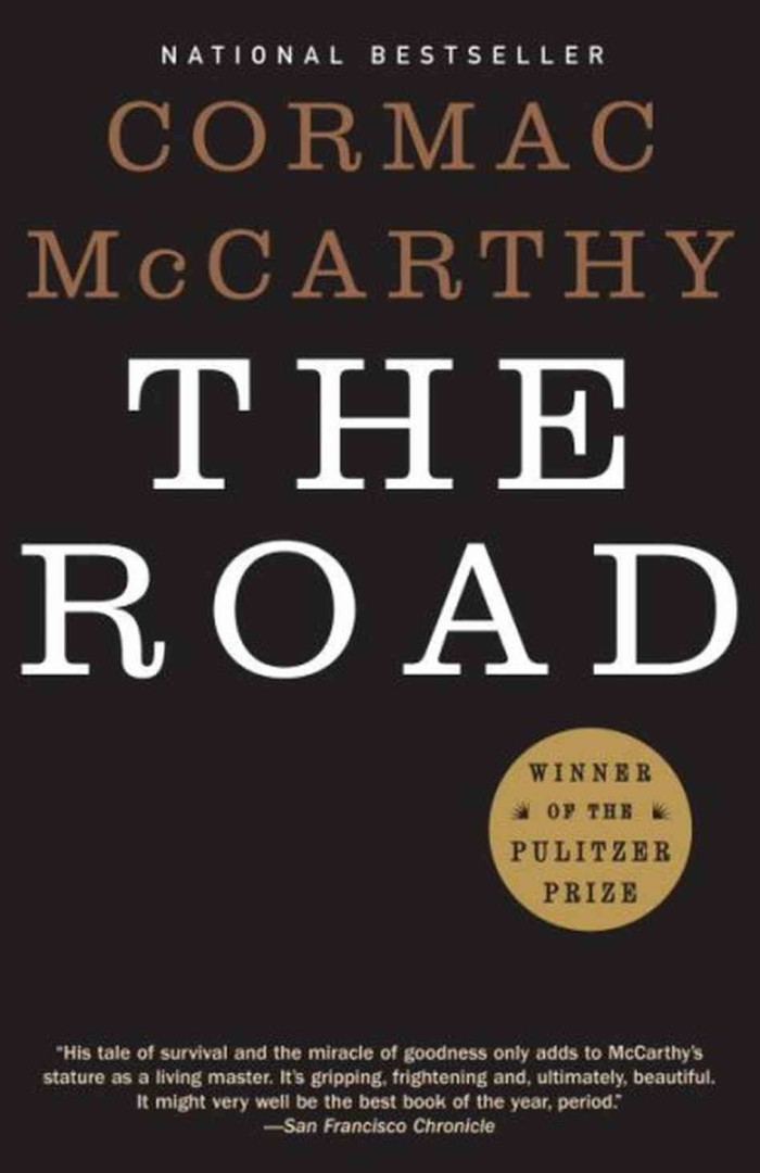 "7) Blink and you'll miss it, but McCarthy's, ""The Road"" begins in Tennessee with a billboard that reads, ""See Rock City."" This is the second book the author sets in the southern state, and the first one that will keep you turning pages late into the night."