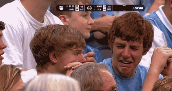 unc crying