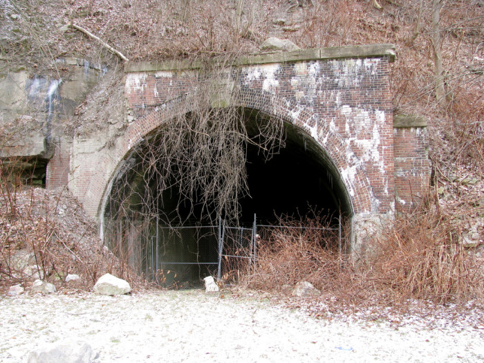 15) This creepy, forgotten tunnel is located in Wheeling, West Virginia.