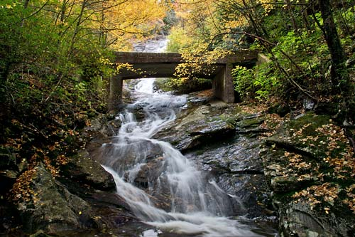6. Wildcat Falls, Pisgah National Forest