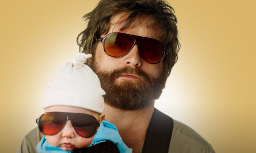 9. Born in Wilkesboro, Zach Galifanakis took all his small town quirks first to NC State and later to Hollywood where he quickly became a favored comedian and actor.