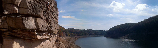 1) Summersville Lake is a beautiful reservoir located in Nicholas County, West Virginia.