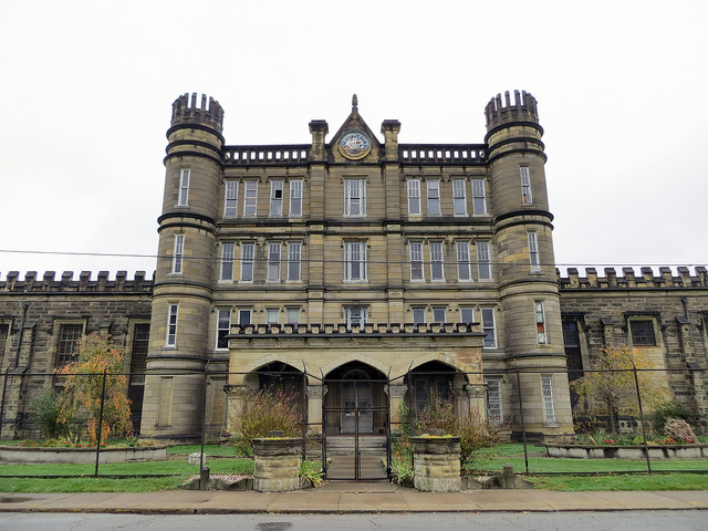 1) The West Virginia State Penitentiary, which is now closed down as a prison, was opened from 1876 to 1995.