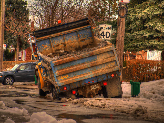10. Every year, we repave many of our roads, only to find that winter has left them cracked and full of potholes once spring rolls around.