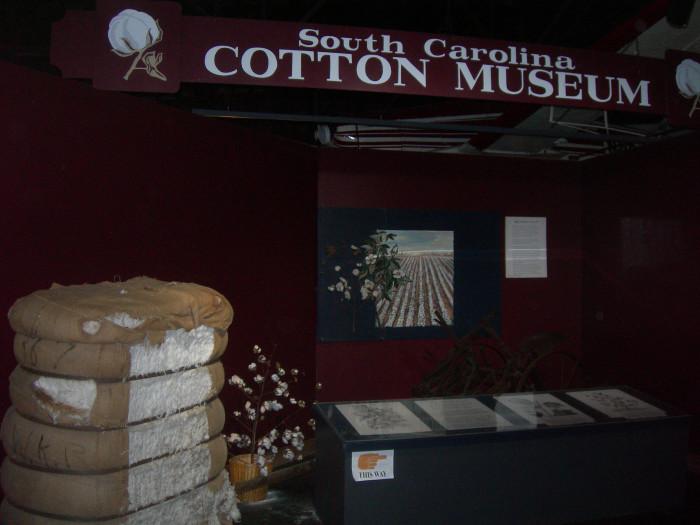 12. South Carolina Cotton Museum
