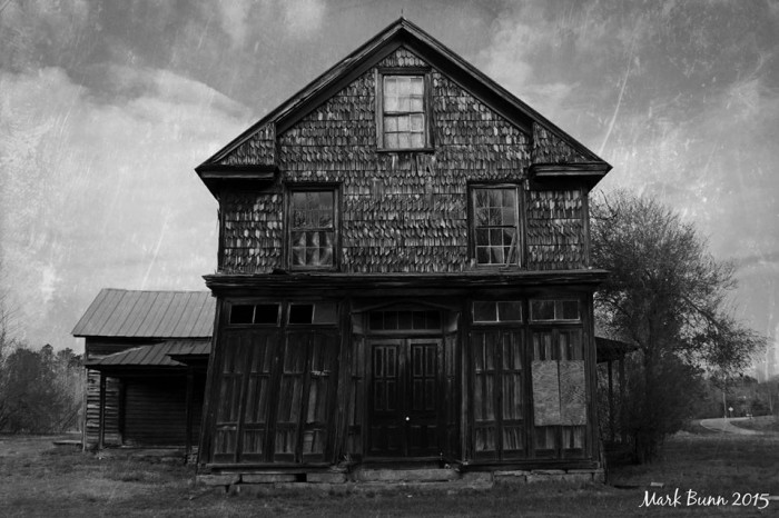 5. The Old Bobbitt Store House built in the late 1800's, located in Vance County, is still standing despite a long standing history.