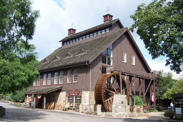 9) A visit to the Velvet Ice Cream Company and Ye Old Mill in Utica not only offers smooth, freshly made ice cream, but also an inside look into the production of it.